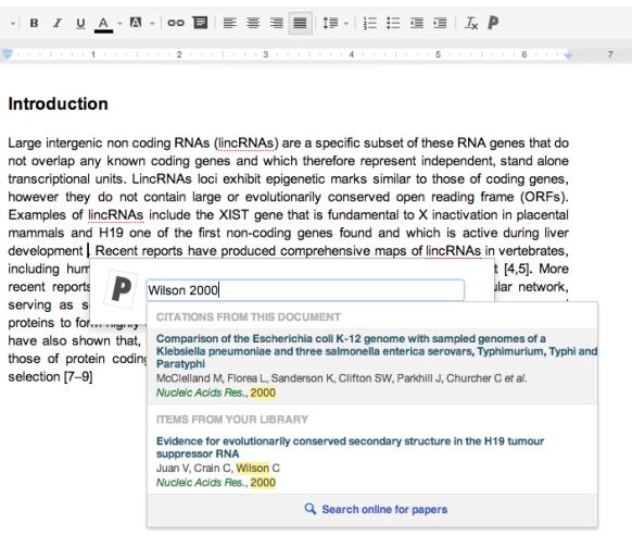Paperfile文献管理工具