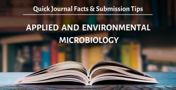 Applied and Environmental Microbiology 投稿规定、审稿周期、发表标准、影响因子